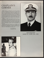 Page 11, 1986 Edition, Dale (CG 19) - Naval Cruise Book online yearbook collection