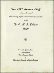 Page 5, 1947 Edition, Daviess County High School - Echoes Yearbook (Owensboro, KY) online yearbook collection
