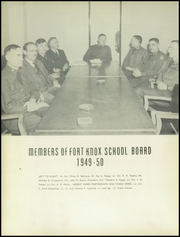 Page 12, 1950 Edition, Fort Knox High School - Eagle Yearbook (Fort Knox, KY) online yearbook collection