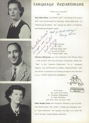 Page 14, 1954 Edition, Fort Knox High School - Eagle Yearbook (Fort Knox, KY) online yearbook collection