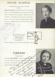 Page 15, 1954 Edition, Fort Knox High School - Eagle Yearbook (Fort Knox, KY) online yearbook collection