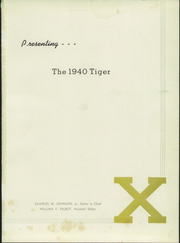 Page 5, 1940 Edition, St Xavier High School - Tiger Yearbook (Louisville, KY) online yearbook collection