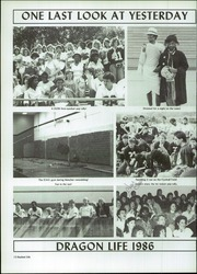 Page 14, 1986 Edition, Doss High School - Myth Yearbook (Louisville, KY) online yearbook collection