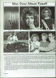 Page 6, 1986 Edition, Doss High School - Myth Yearbook (Louisville, KY) online yearbook collection