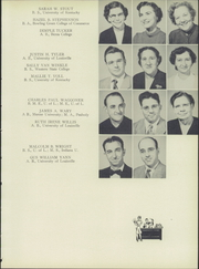 Page 13, 1953 Edition, Southern High School - Southerner Yearbook (Louisville, KY) online yearbook collection