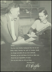 Page 10, 1954 Edition, Southern High School - Southerner Yearbook (Louisville, KY) online yearbook collection