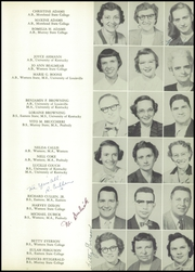 Page 15, 1954 Edition, Southern High School - Southerner Yearbook (Louisville, KY) online yearbook collection