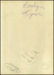 Page 3, 1954 Edition, Southern High School - Southerner Yearbook (Louisville, KY) online yearbook collection