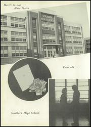 Page 6, 1954 Edition, Southern High School - Southerner Yearbook (Louisville, KY) online yearbook collection