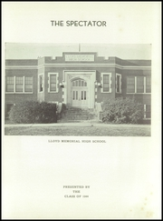 Page 5, 1944 Edition, Lloyd Memorial High School - Spectator Yearbook (Erlanger, KY) online yearbook collection