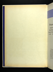 Page 4, 1965 Edition, Lafayette High School - Marquis Yearbook (Lexington, KY) online yearbook collection