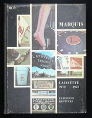 Page 1, 1973 Edition, Lafayette High School - Marquis Yearbook (Lexington, KY) online yearbook collection