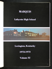 Page 5, 1973 Edition, Lafayette High School - Marquis Yearbook (Lexington, KY) online yearbook collection