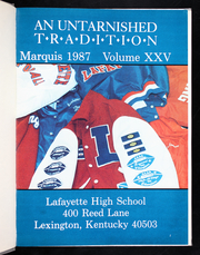 Page 5, 1987 Edition, Lafayette High School - Marquis Yearbook (Lexington, KY) online yearbook collection