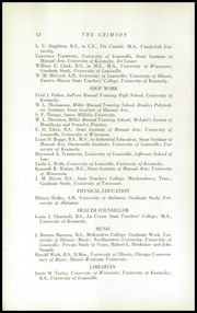 Page 14, 1940 Edition, Dupont Manual Training High School - Crimson Yearbook (Louisville, KY) online yearbook collection