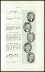 Page 17, 1940 Edition, Dupont Manual Training High School - Crimson Yearbook (Louisville, KY) online yearbook collection