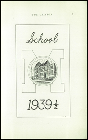 Page 9, 1940 Edition, Dupont Manual Training High School - Crimson Yearbook (Louisville, KY) online yearbook collection