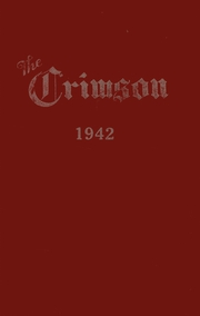 1942 Edition, Dupont Manual Training High School - Crimson Yearbook (Louisville, KY)