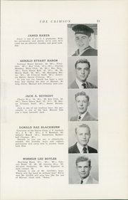 Page 17, 1949 Edition, Dupont Manual Training High School - Crimson Yearbook (Louisville, KY) online yearbook collection