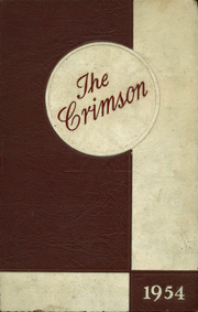 1954 Edition, Dupont Manual Training High School - Crimson Yearbook (Louisville, KY)