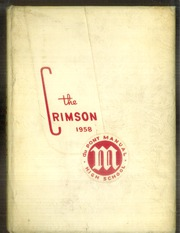 1958 Edition, Dupont Manual Training High School - Crimson Yearbook (Louisville, KY)