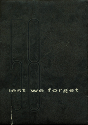1958 Edition, Holmes High School - Lest We Forget Yearbook (Covington, KY)