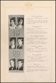 Page 14, 1929 Edition, Henderson County High School - Countian Yearbook (Henderson, KY) online yearbook collection