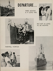 Page 11, 1961 Edition, Damato (DDE 871) - Naval Cruise Book online yearbook collection