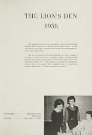 Page 5, 1958 Edition, Boyd County High School - Heritage Yearbook (Ashland, KY) online yearbook collection