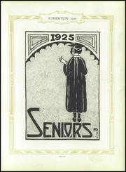 Page 15, 1925 Edition, Atherton High School - Annual Yearbook (Louisville, KY) online yearbook collection