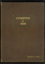 1929 Edition, Atherton High School - Annual Yearbook (Louisville, KY)