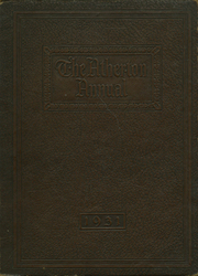 1931 Edition, Atherton High School - Annual Yearbook (Louisville, KY)