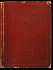 1932 Edition, Atherton High School - Annual Yearbook (Louisville, KY)