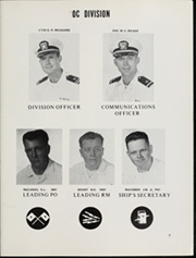 Page 11, 1968 Edition, Damato (DD 871) - Naval Cruise Book online yearbook collection