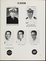Page 13, 1968 Edition, Damato (DD 871) - Naval Cruise Book online yearbook collection