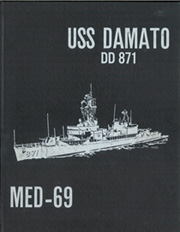 Page 1, 1969 Edition, Damato (DD 871) - Naval Cruise Book online yearbook collection