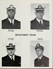 Page 9, 1969 Edition, Damato (DD 871) - Naval Cruise Book online yearbook collection