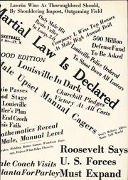 Page 17, 1940 Edition, Louisville Male High School - Bulldog Yearbook (Louisville, KY) online yearbook collection