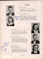 Page 16, 1947 Edition, Simon Kenton High School - Pioneer Yearbook (Independence, KY) online yearbook collection