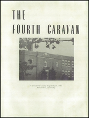 Page 5, 1951 Edition, Campbell County High School - Caravan Yearbook (Alexandria, KY) online yearbook collection