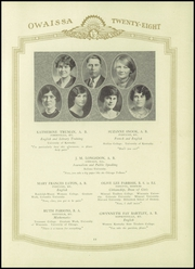 Page 15, 1928 Edition, Paducah Tilghman High School - Owaissa Yearbook (Paducah, KY) online yearbook collection