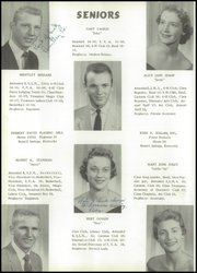 Page 12, 1958 Edition, Russell High School - Croaker Yearbook (Russell, KY) online yearbook collection
