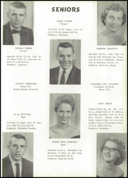 Page 15, 1958 Edition, Russell High School - Croaker Yearbook (Russell, KY) online yearbook collection