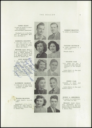 Page 13, 1947 Edition, Bowling Green High School - Beacon Yearbook (Bowling Green, KY) online yearbook collection