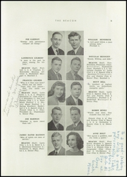 Page 15, 1947 Edition, Bowling Green High School - Beacon Yearbook (Bowling Green, KY) online yearbook collection