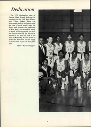 Page 12, 1970 Edition, Central High School - Centralian Yearbook (Louisville, KY) online yearbook collection