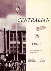 Page 7, 1970 Edition, Central High School - Centralian Yearbook (Louisville, KY) online yearbook collection