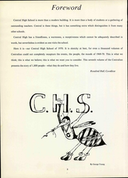 Page 8, 1970 Edition, Central High School - Centralian Yearbook (Louisville, KY) online yearbook collection