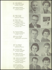 Page 17, 1960 Edition, Pleasure Ridge Park High School - Panther Yearbook (Pleasure Ridge Park, KY) online yearbook collection