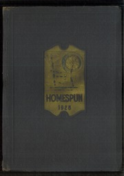 Page 1, 1928 Edition, Somerset High School - Homespun Yearbook (Somerset, KY) online yearbook collection